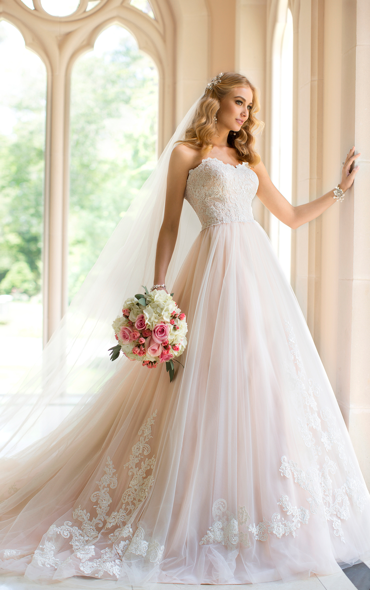 Sexy and extravagant stella york wedding dresses 2014 for Wedding dresses 2 in 1
