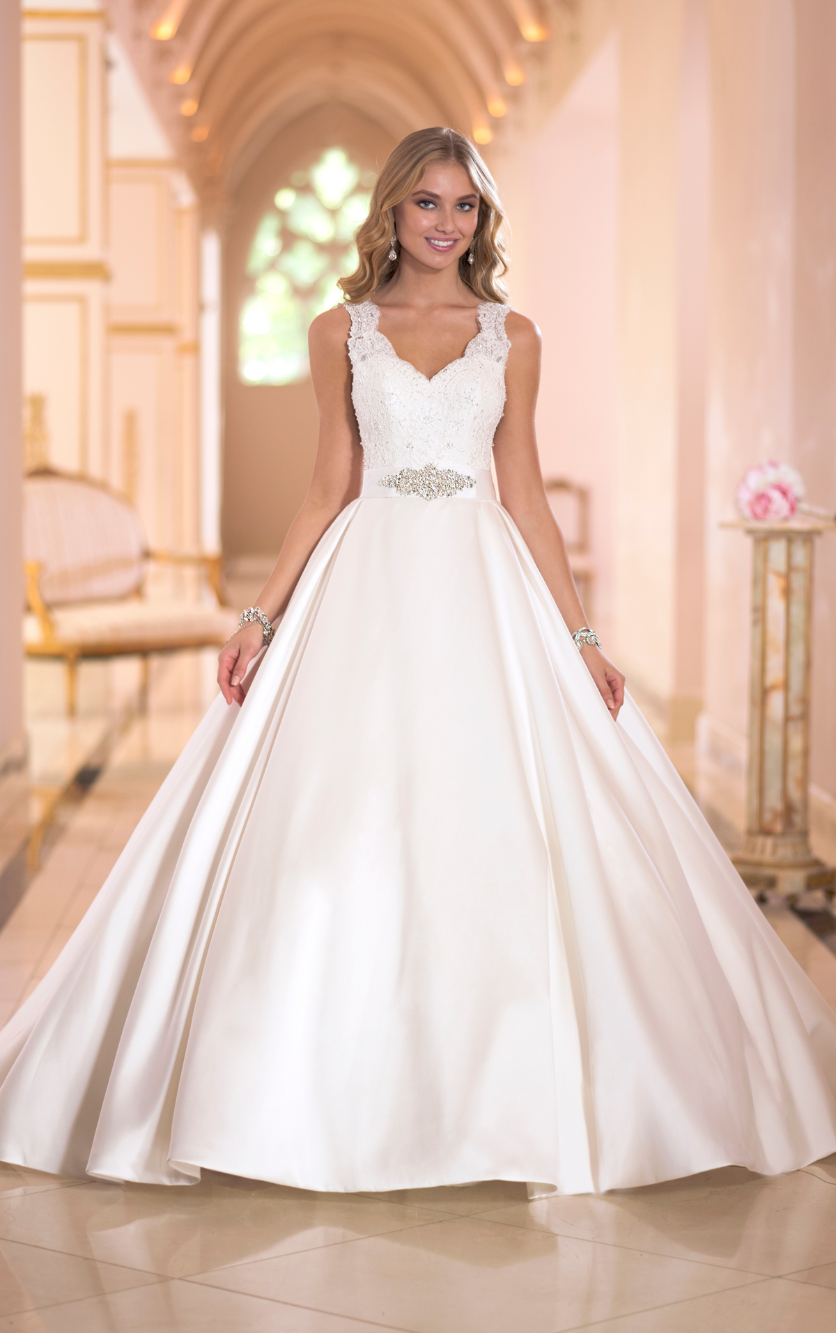 Sexy and extravagant stella york wedding dresses 2014 for New york wedding dresses online