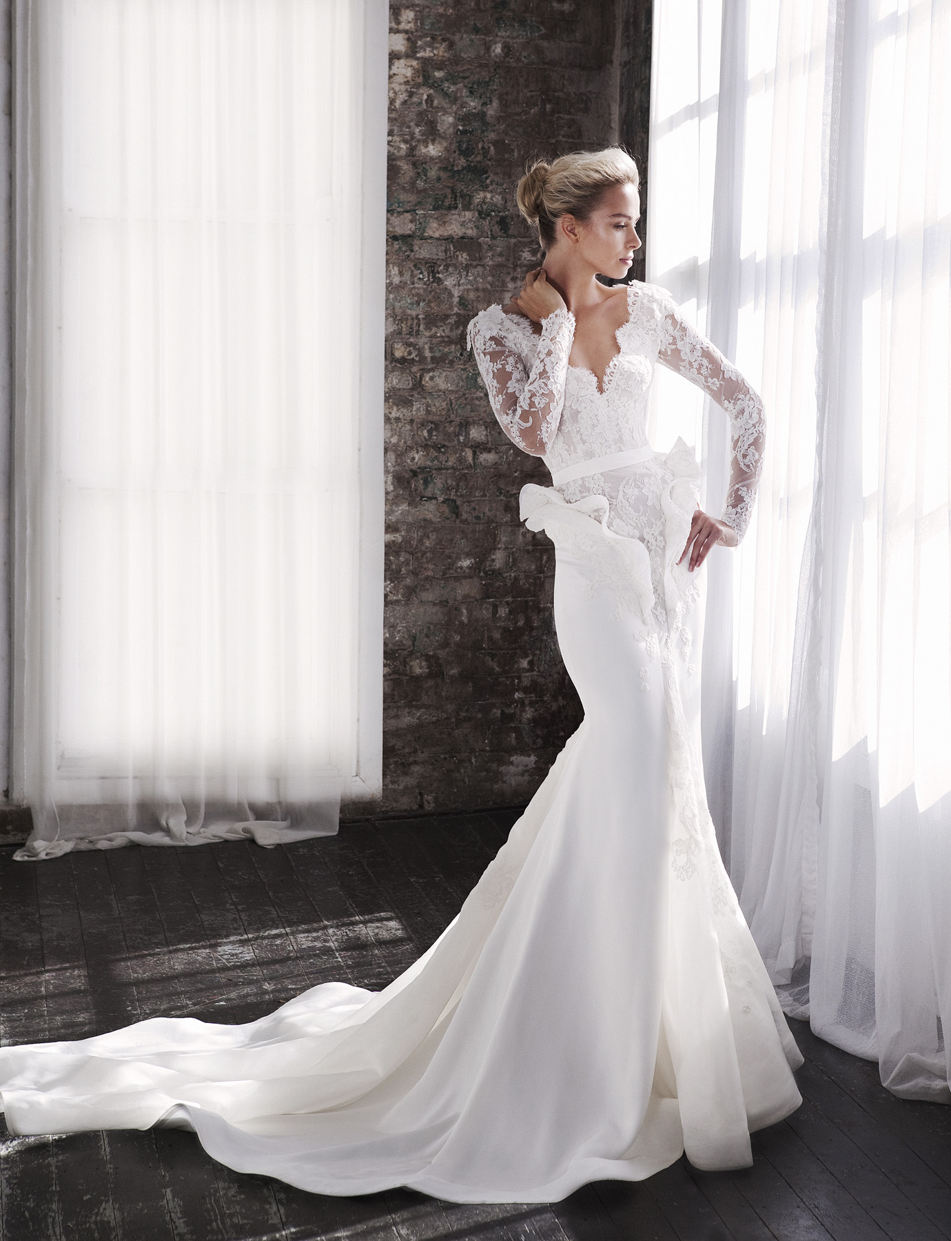 Gorgeous steven khalil wedding dresses 2013 collection for Steven khalil mermaid wedding dress