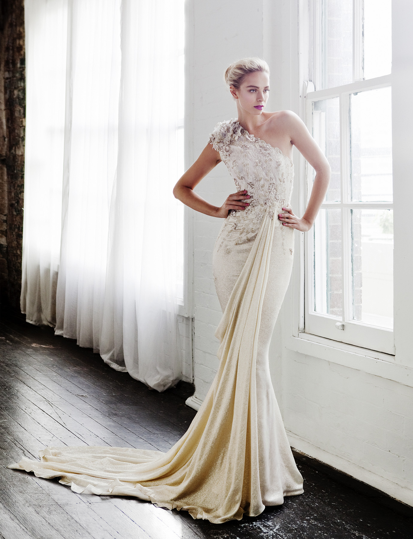 Of this world gorgeous steven khalil wedding dresses 2013 collection