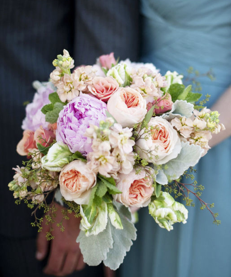 Ideas For Wedding Flowers: 16 Pretty Wedding Bouquet Ideas
