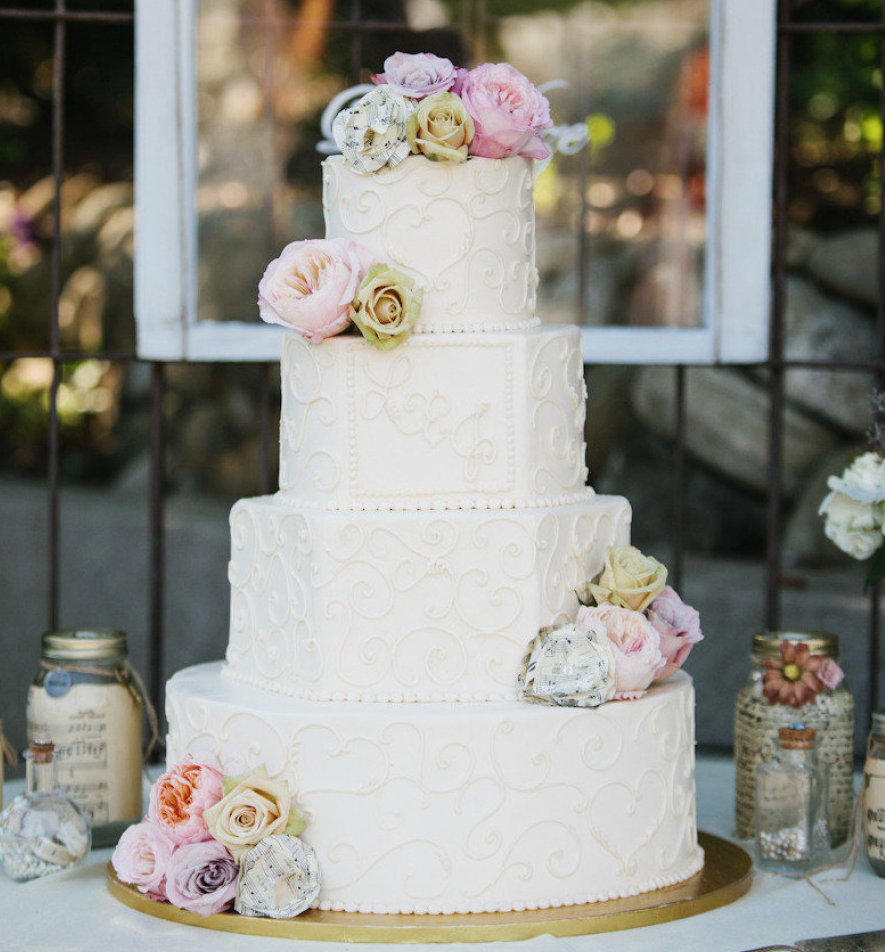 Awe-Inspiring Wedding Cakes Ideas to to Blow Your Mind - MODwedding