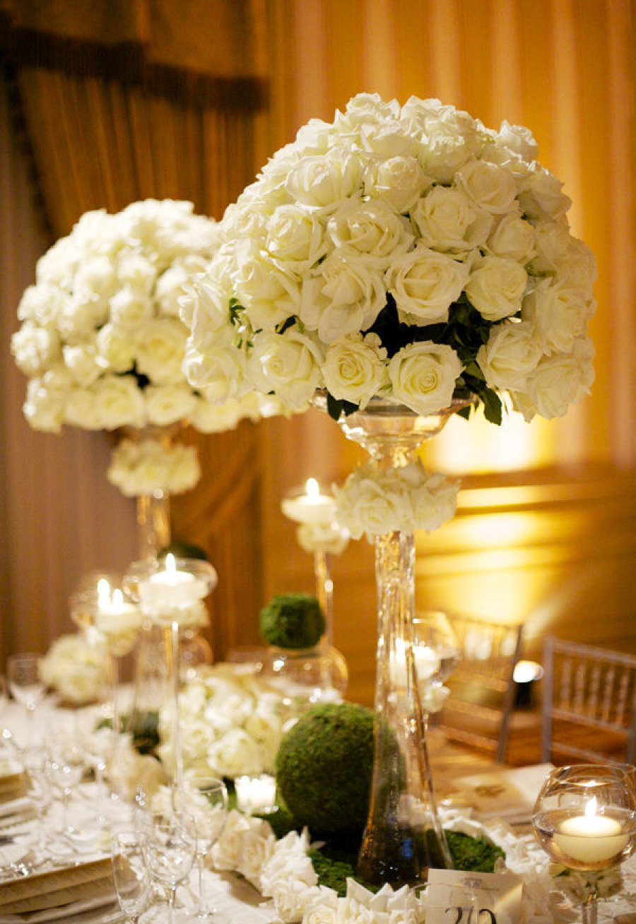 wedding flowers vase 29 jaw droppingly beautiful wedding centerpieces modwedding 9654