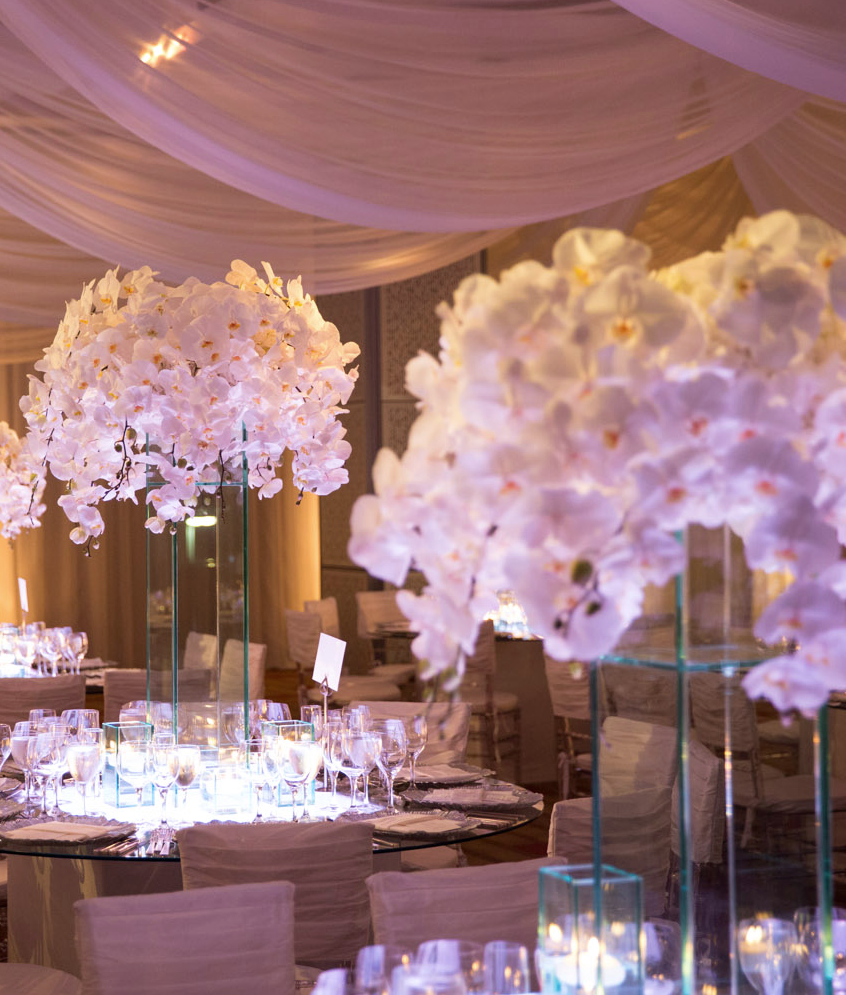 Enchanted romantic wedding centerpieces modwedding