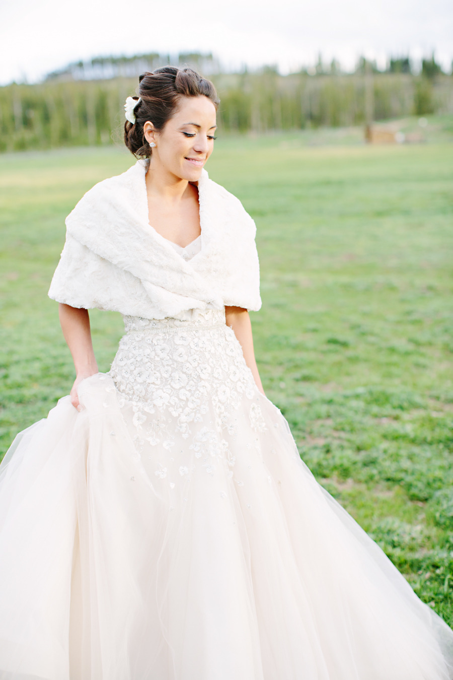 beautiful real brides with stunning wedding dresses