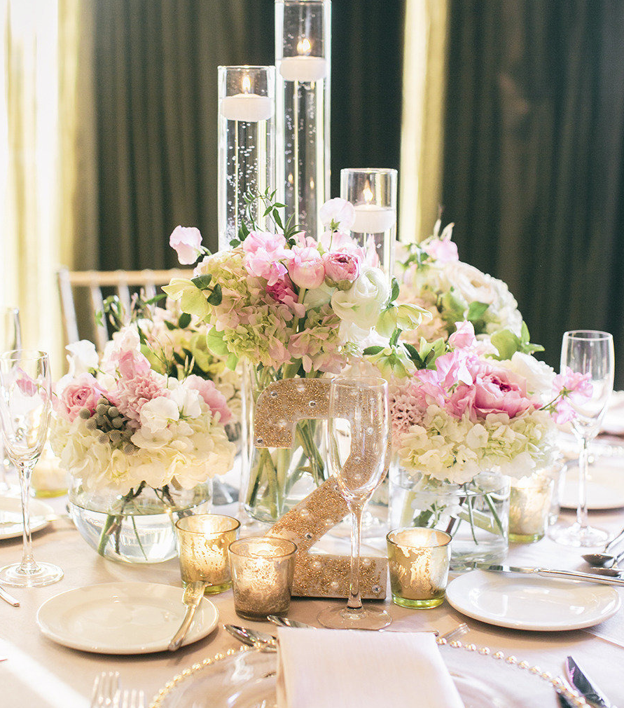 Ideas For Wedding Flower Arrangements: Get Inspired: 25 Pretty Spring Wedding Flower Ideas