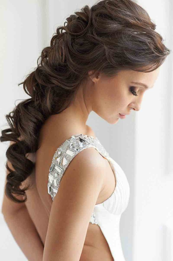Excellent 21 Classy And Elegant Wedding Hairstyles Modwedding Hairstyles For Men Maxibearus