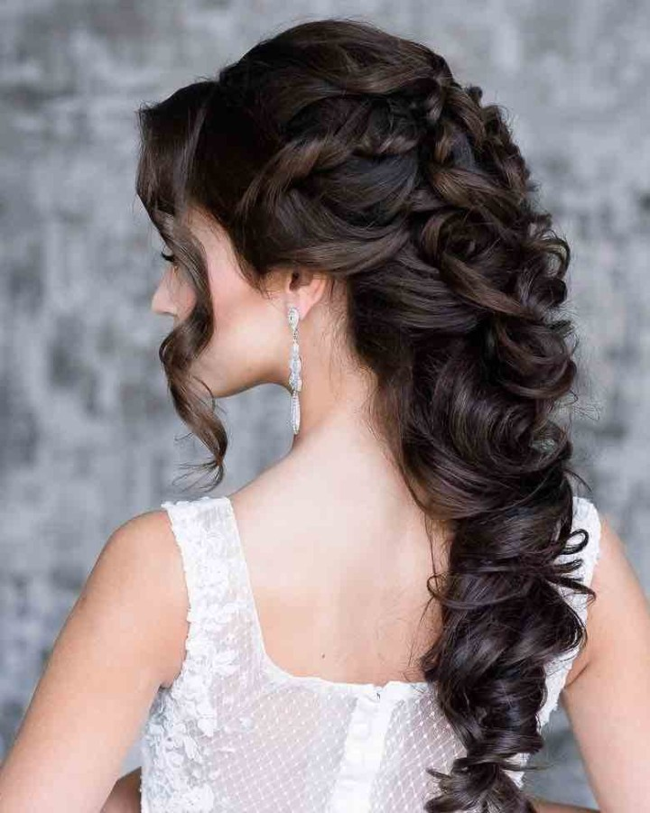 Awesome 21 Classy And Elegant Wedding Hairstyles Modwedding Hairstyles For Men Maxibearus