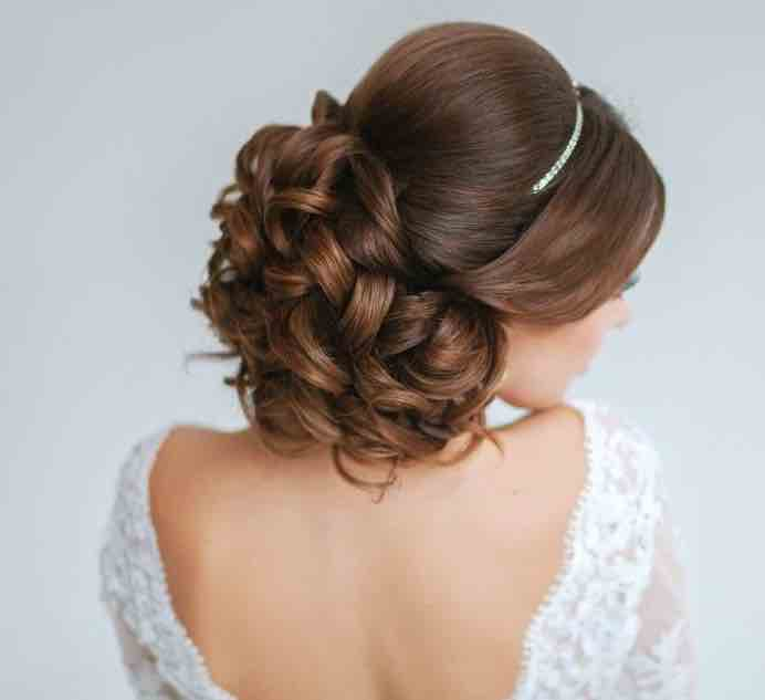 Sensational 21 Classy And Elegant Wedding Hairstyles Modwedding Hairstyles For Men Maxibearus