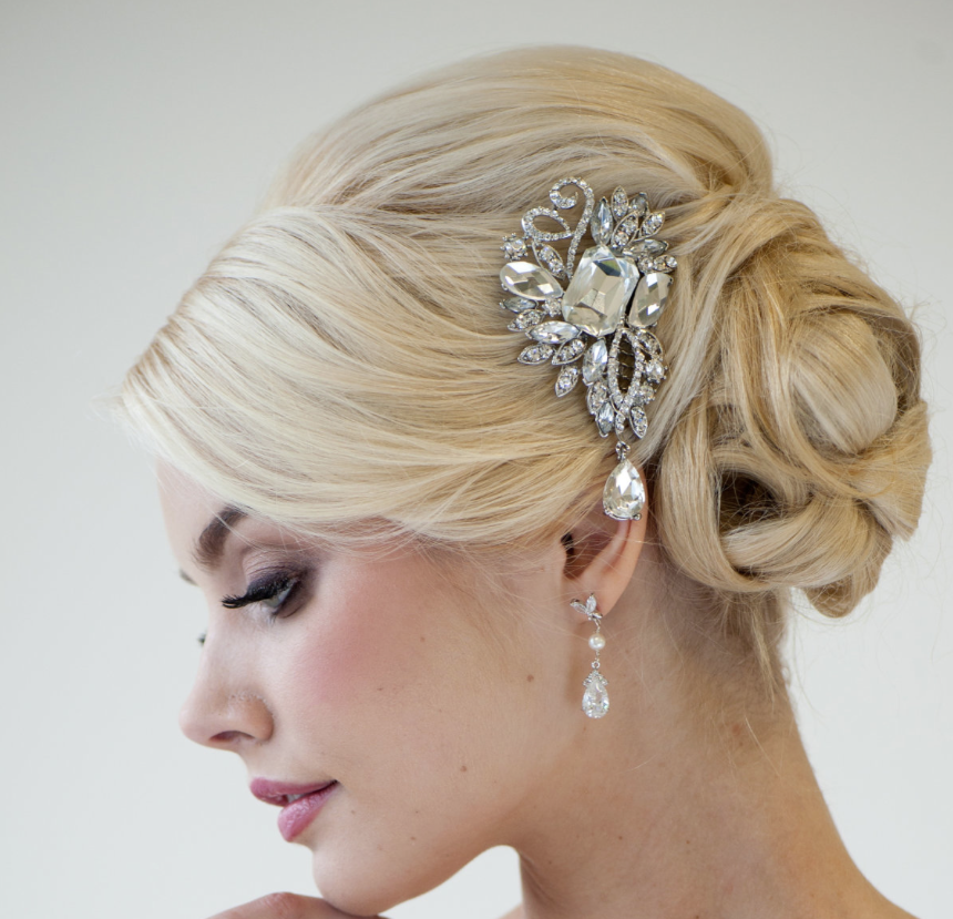 Beautiful Hair Style In Wedding: 24 Mind-Blowingly Beautiful Wedding Hairstyles
