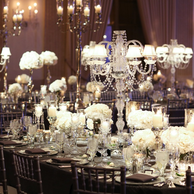 Beautiful Weddings: 23 Chic And Beautiful Wedding Centerpiece Ideas