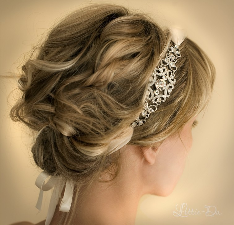 Bridal Inspiration These Bridal Updos Are The Real Deal: 1920s Gatsby Inspired Wedding Hairstyles