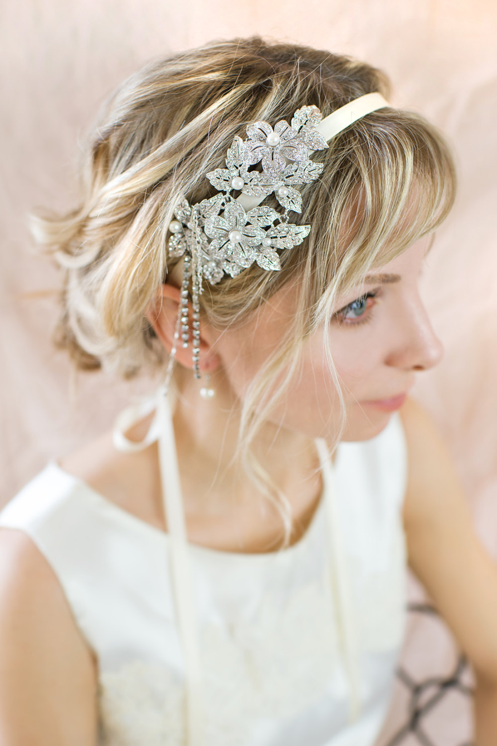 1920s Gatsby Inspired Wedding Hairstyles Modwedding