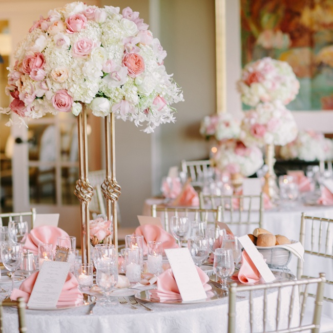 Pink Wedding Reception Decor Image collections - Wedding Decoration ...
