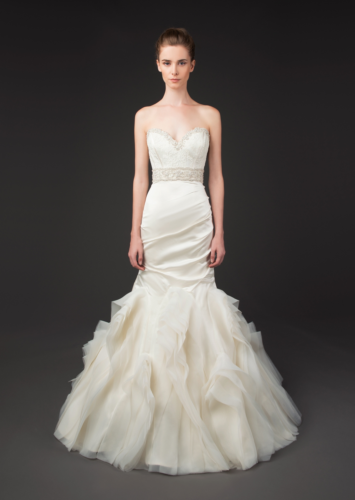 Winnie couture wedding dresses fall 2014 diamond label for Couture labels