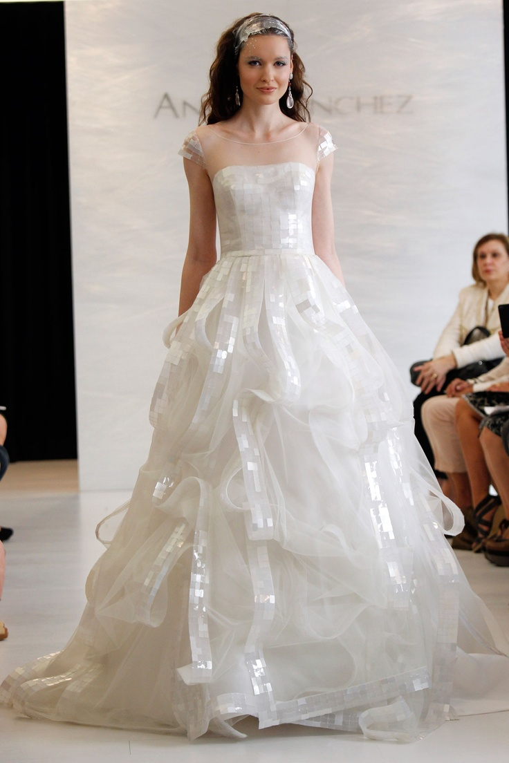 The Latest Collection of Angel Sanchez Wedding Dresses ...