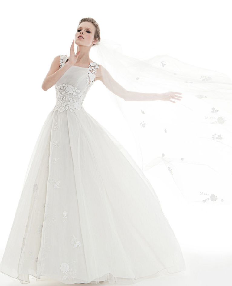 the latest collection of peter langner wedding dresses