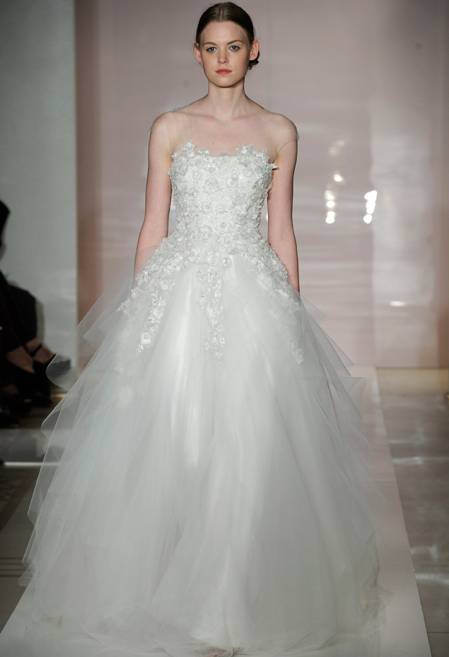 drop dead gorgeous reem acra wedding dresses 2014 modwedding