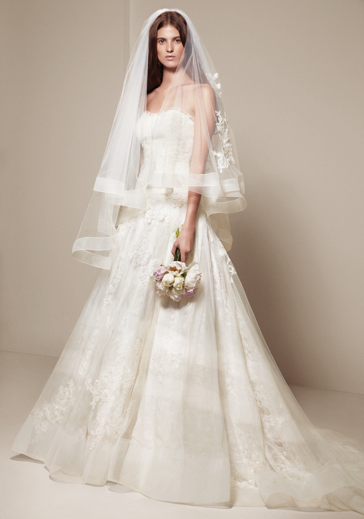 The best gowns from the most in demand wedding dress designers for Best vera wang wedding dresses