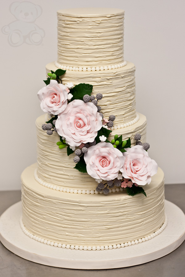 40 wedding cake designs with elaborate fondant flowers modwedding wedding cakes 18 02162014 junglespirit