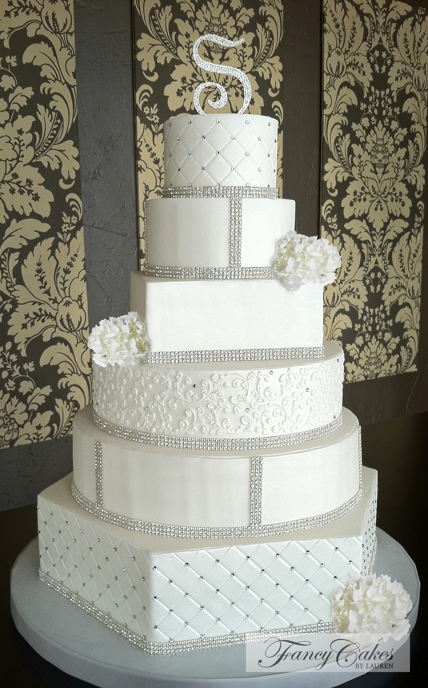 Gallery For Fancy Wedding Cakes