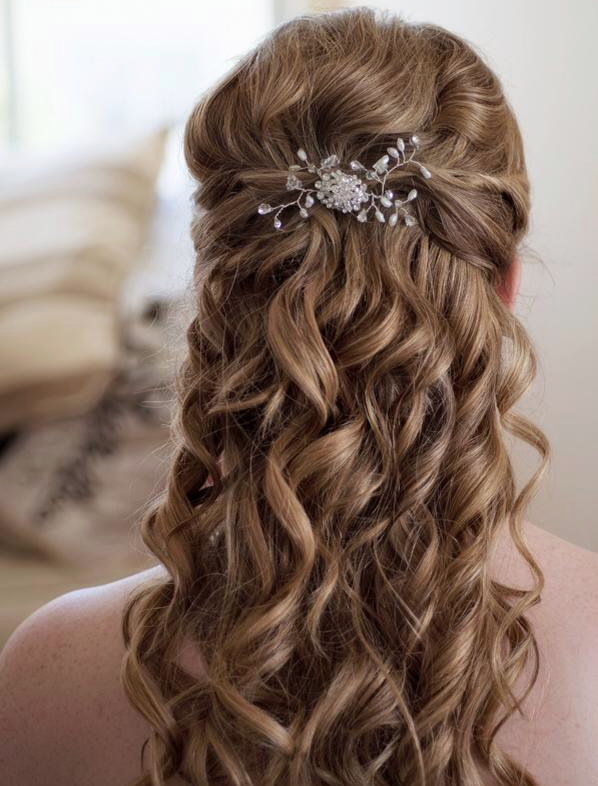 Creative and elegant wedding hairstyles for long hair modwedding wedding hairstyles 27 02082014 junglespirit Images
