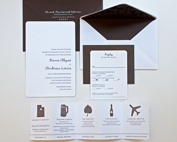Gorgeous Wedding Stationery Ideas for the Creative Couple - MODwedding