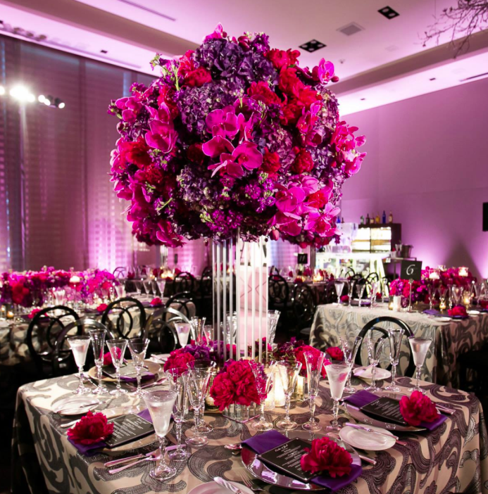 Pink And Purple Wedding Decor Decoration For Home