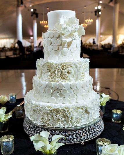 Wedding Cake 101 An Introduction To Wedding Cakes: Wedding Cakes Almost Too Pretty To Eat