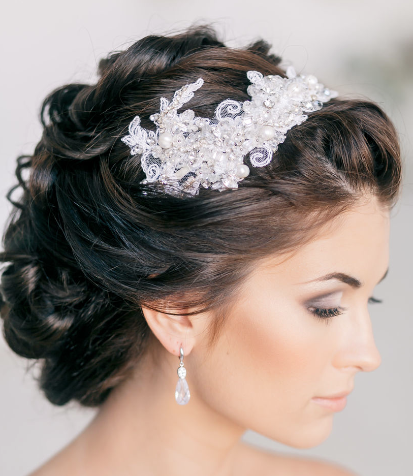 Hairstyles For A Wedding Party: 30 Latest Wedding Hairstyles For Inspiration