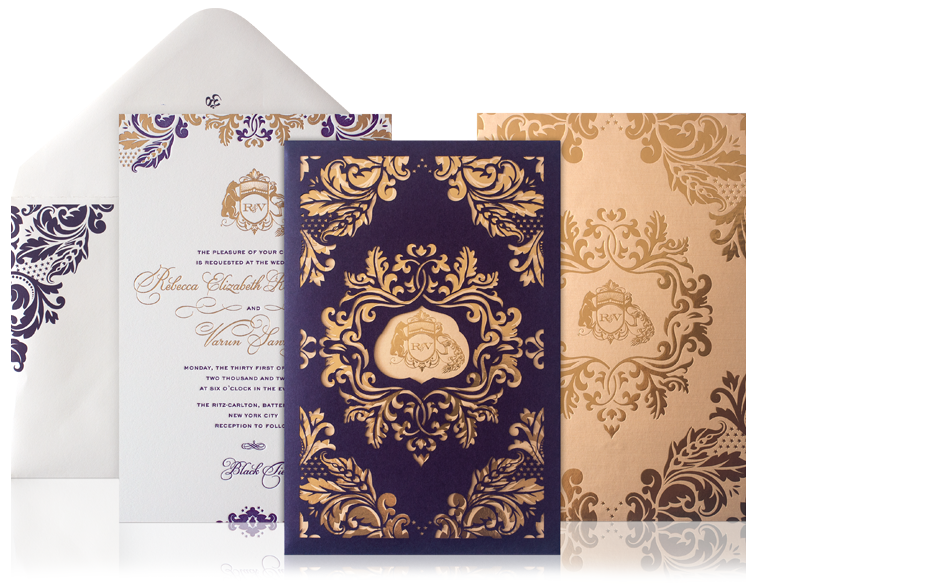 New Wedding Invitation Designs: Wedding Invitation Ideas From Atelier Isabey New York