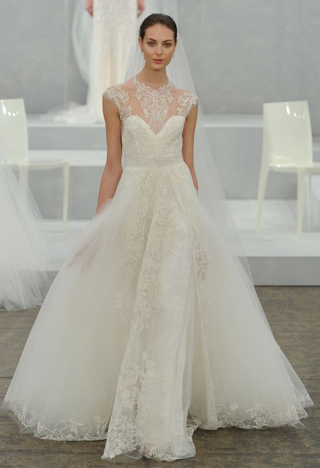 Monique Lhuillier Wedding Dresses Spring 2015 MODwedding