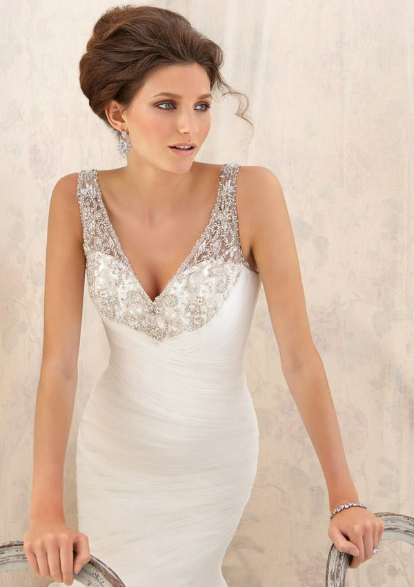 Short Bridal Dress Mori Lee