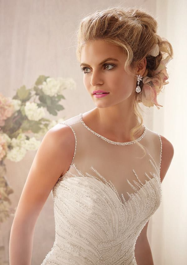 Mori Lee by Madeline Gardner Spring 2014 Collection - MODwedding