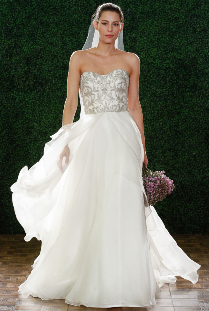 Watters wedding dresses spring 2015 collection modwedding for Wedding dresses by watters