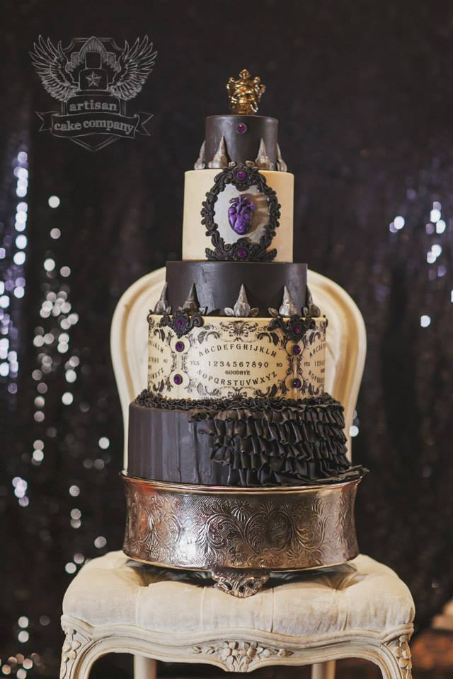 Halloween Cake Decorations Nz : One of a Kind Wedding Cakes from Artisan Cake Company ...