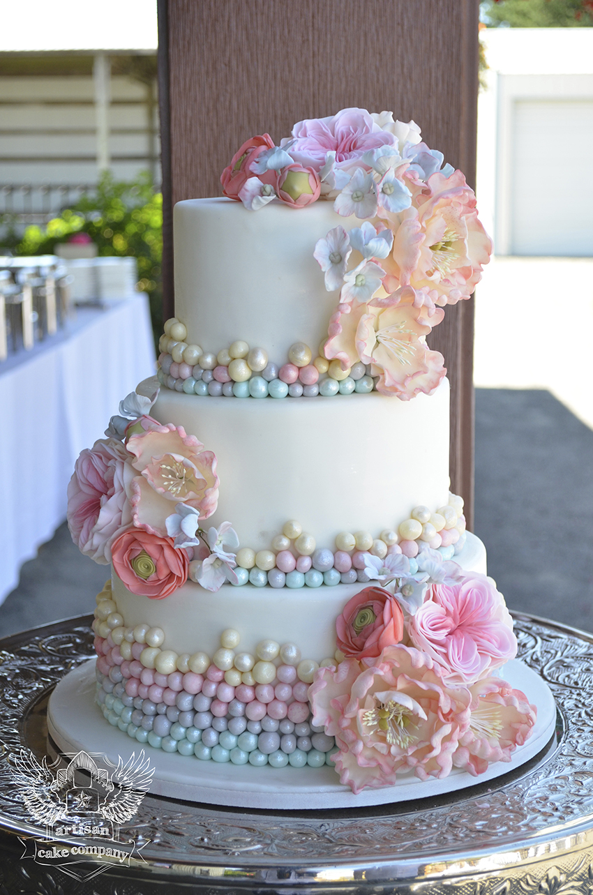Artisan Cake Company : One of a Kind Wedding Cakes from Artisan Cake Company ...
