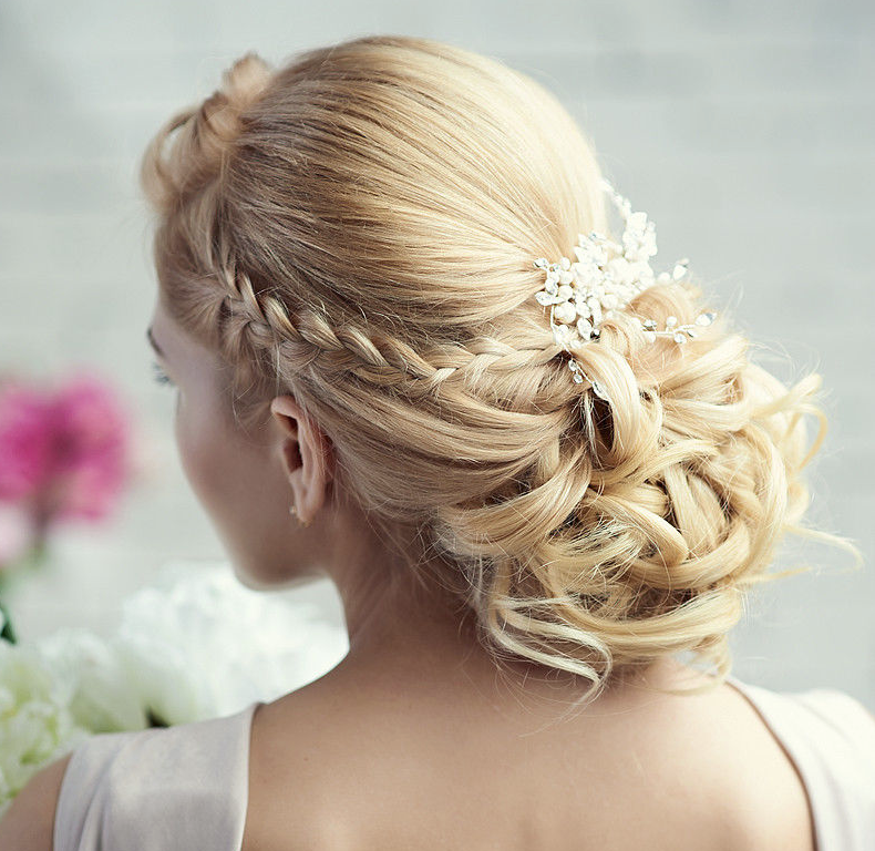 Hairstyle Wedding 2014: New! Stunning Wedding Hairstyle Inspiration From Elstile