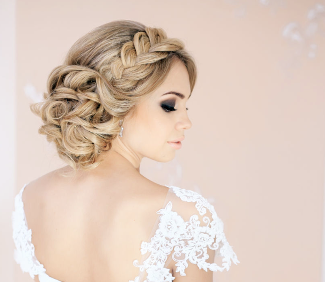 creative hair up styles 30 creative and unique wedding hairstyle ideas modwedding 4940
