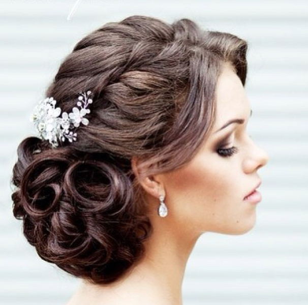 30 creative and unique wedding hairstyle ideas modwedding wedding hairstyles 23 04022014nz junglespirit Gallery