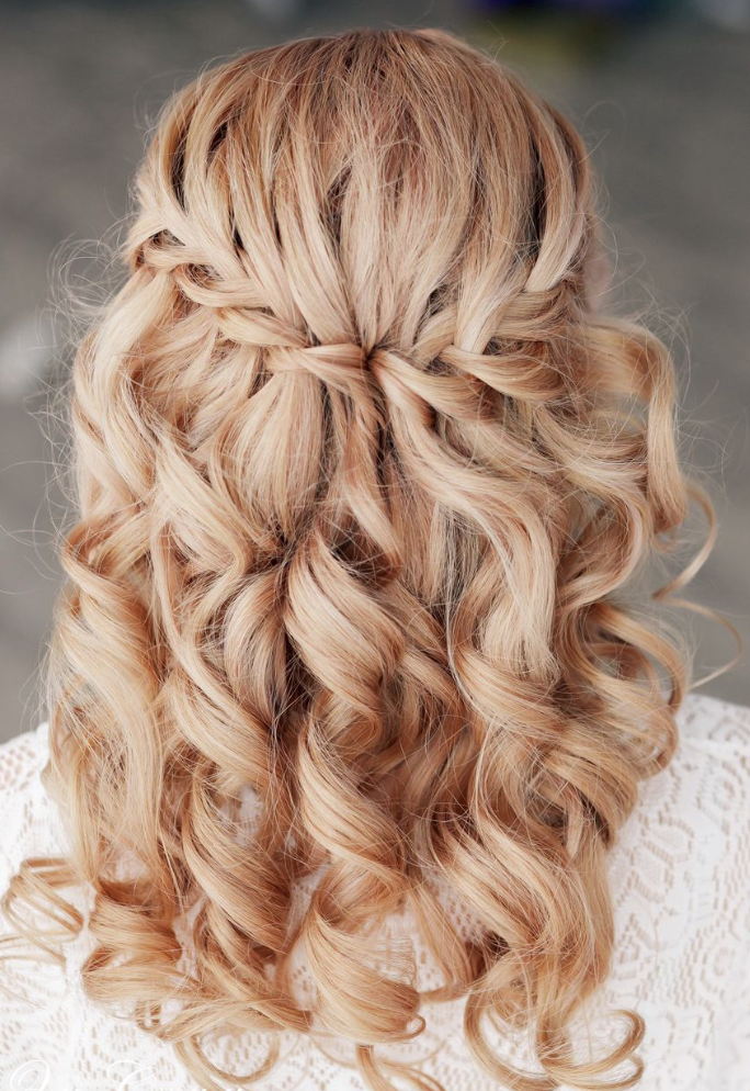 Peachy 30 Creative And Unique Wedding Hairstyle Ideas Modwedding Hairstyle Inspiration Daily Dogsangcom