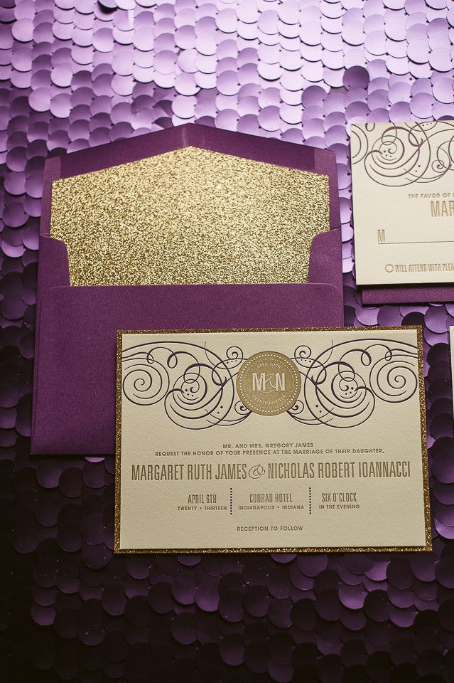 beautiful, affordable letterpress wedding invitations - modwedding, Wedding invitations
