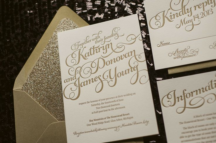 beautiful affordable letterpress wedding invitations
