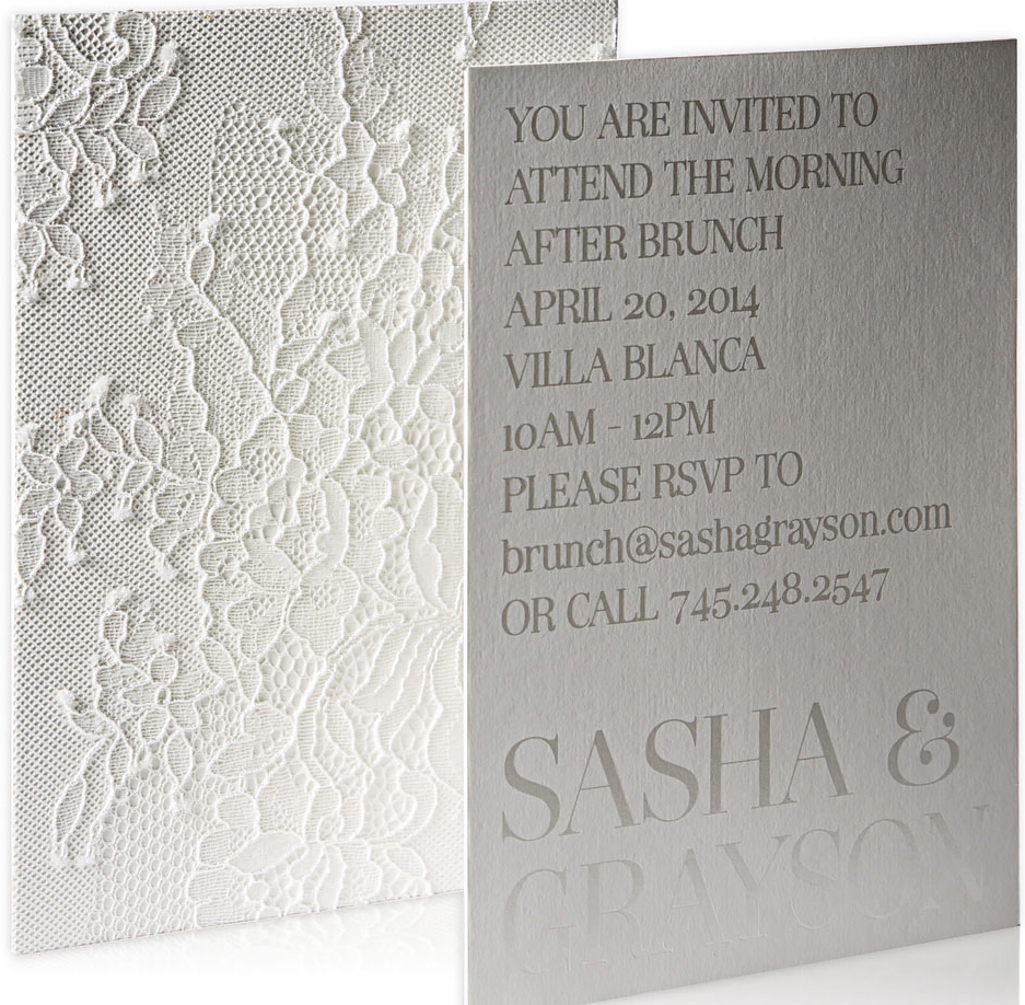 Striking wedding invitations modwedding wedding invitation ideas 23 04182014nz stopboris
