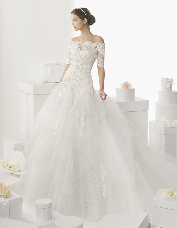 unite in the 2014 bridal collection of rosa clara wedding dresses