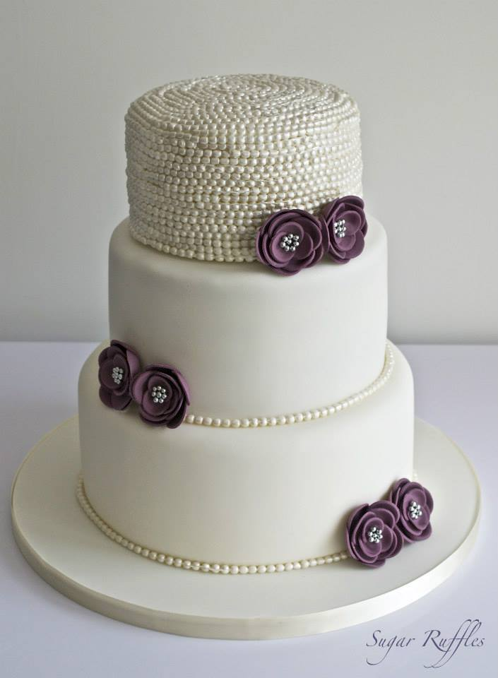 Cake Design Pro : Best images about buttercream cakes on. Wedding cake with ...
