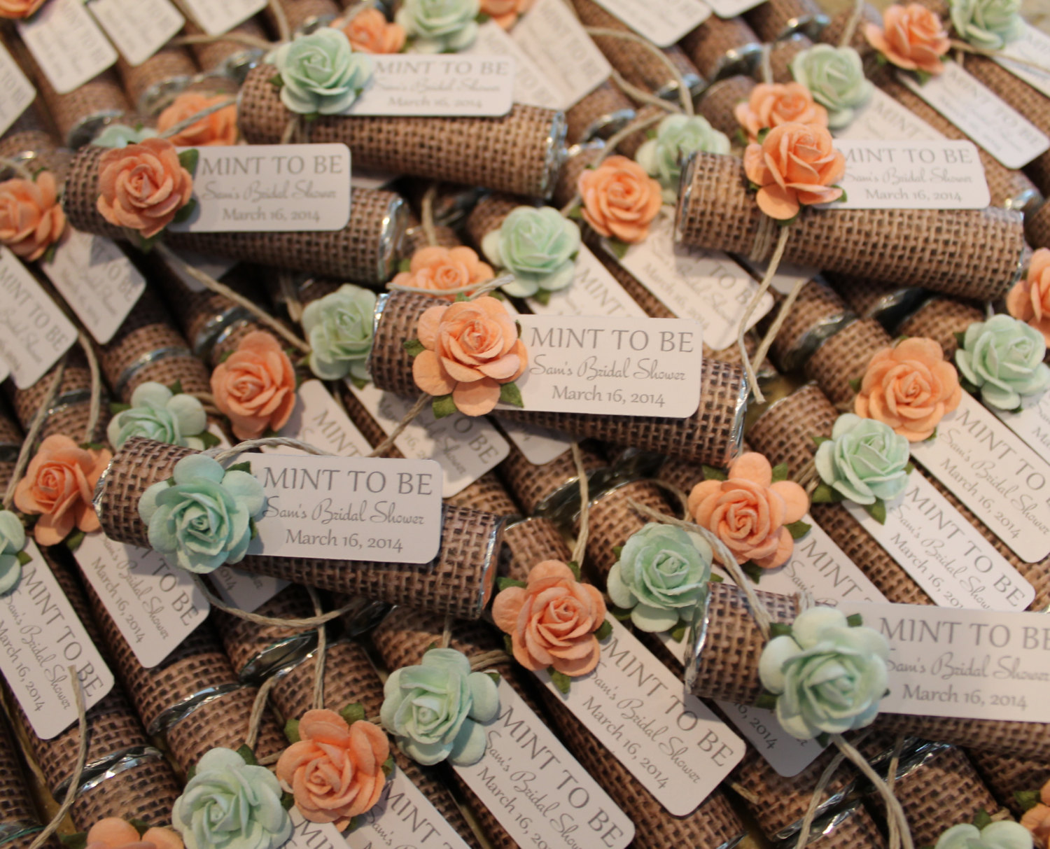 Unique Mint Wedding Favors - MODwedding