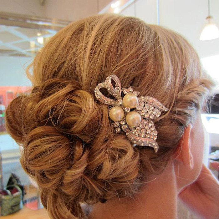 Old Fashioned Wedding Hairstyles: Vintage Inspired Wedding Hairstyles