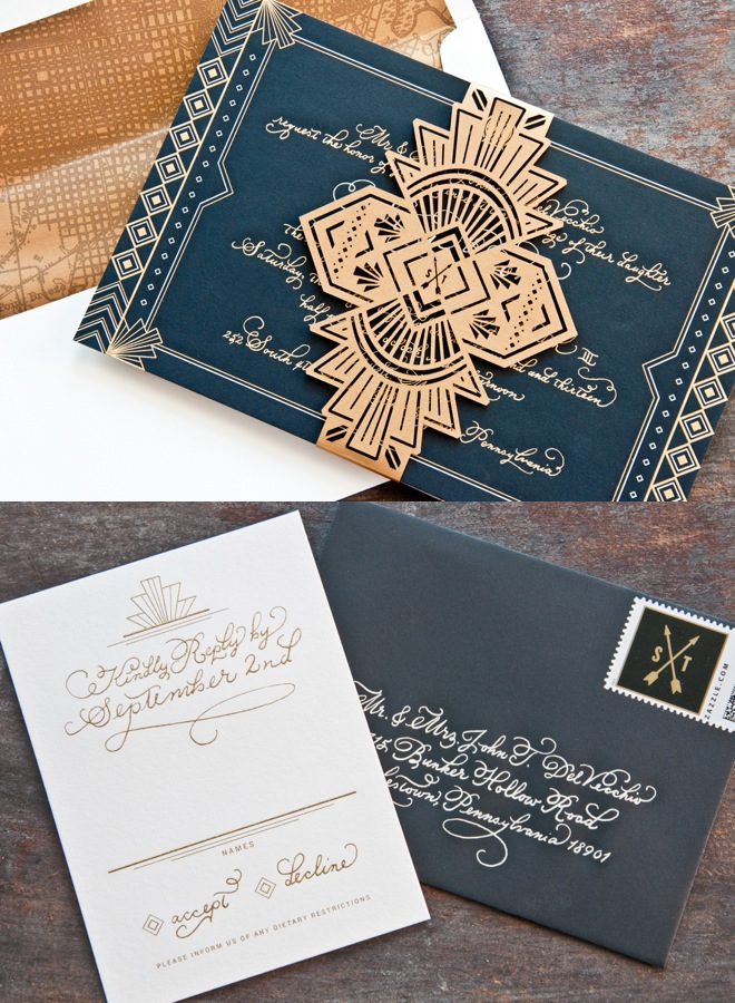 Unique Wedding Invitations - MODwedding