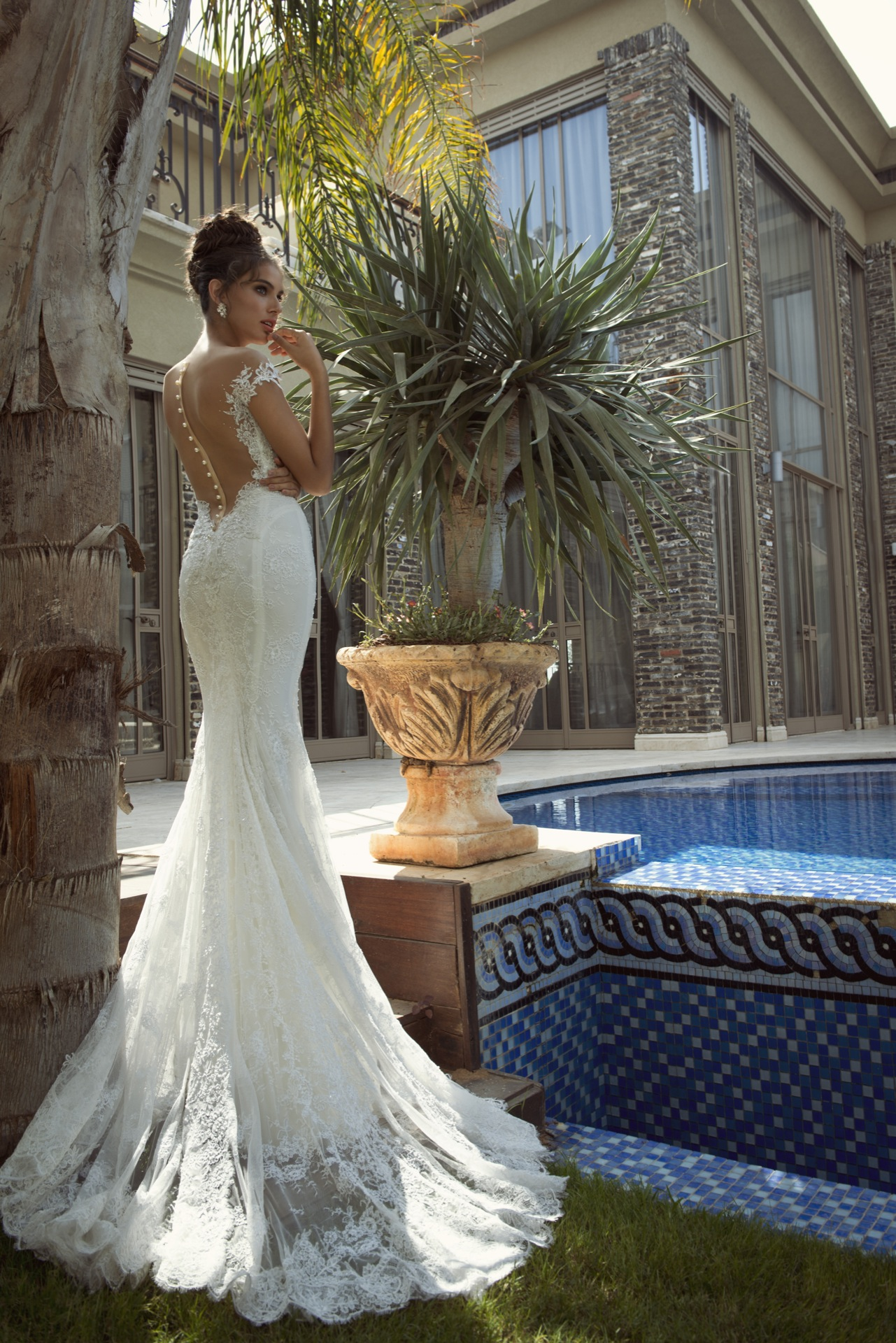 Lahav Galia wedding dresses pictures rare photo